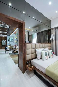Master bedroom remodel, The amount of light in the room gets is one thing you should always consider when you use home design. If your room lacks windows, you should paint the walls a light and bright color. Elegant Bedroom Design, Luxury Bedroom Design, Contemporary Bedroom, Modern Bedroom, Bedroom Decor, Bedroom Furniture, Small Master Bedroom, Master Bedroom Design, Bedroom Designs