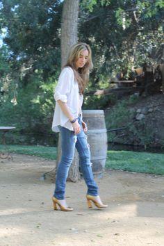 #fashion #style #blog #vintage #ysl #gold #pumps #LA #Liz http://hashtagliz.com