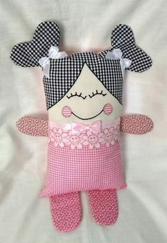 Sewing Toys For Kids Patterns Baby Gifts 64 Ideas - Tiere und Puppen nähen - Babybaby web Kids Patterns, Doll Patterns, Sewing Patterns, Fabric Toys, Fabric Crafts, Fabric Sewing, Baby Toys, Kids Toys, Diy Bebe