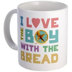 Boy With the Bread mug (Hunger Games) aah!!!! I love this! Team Peeta :)