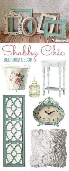 Can't get enough of shabby chic decor? This home decorating collection has everything you need to create the perfect shabby chic bedroom. Shop now! #shabbychichomesdecorating