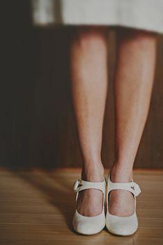 Vintage mary jane wedding shoes redwhiteandgreenphotography.com