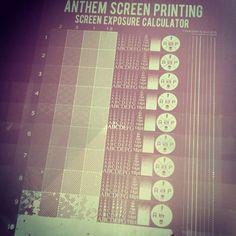Screen Printing Mesh, Screen Printing Equipment, Mesh Screen, Exposure Calculator, Screen Material, Exposure Time, Mug Printing, Pattern Making, Hand Lettering