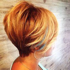 Short Straight Hair, Short Hair Cuts, Short Hair Styles, Hair Color For Black Hair, Cool Hair Color, Dope Hairstyles, Straight Hairstyles, Hype Hair, Beautiful Hair Color