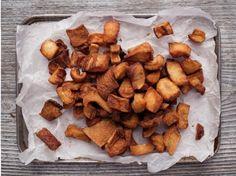 ¡Este chicharrón de cerdo  al horno es súper saludable!  #recetasdecarne #platosdecarne #cerdoalhorno #chicharróndecerdo #chicharróndecerdoalhorno