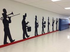 Marching Band Hallway