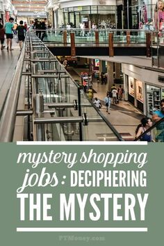 Looking for mystery shopper jobs? Be careful, there are mystery shopper jobs scams out there. Get the truth. Find legitimate, real mystery shopping jobs you can do. http://ptmoney.com/mystery-shopper-jobs-deciphering-the-mystery/