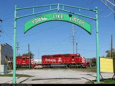 RailPictures.Net Photo: INRD 45 Indiana Rail Road EMD SD40-2 at Linton, Indiana by Brian Wiggins