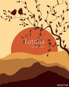 "Download the royalty-free vector ""Card Design Artistic tree, Bird"" designed by Ajay Shrivastava at the lowest price on Fotolia.com. Browse our cheap image bank online to find the perfect stock vector for your marketing projects!"