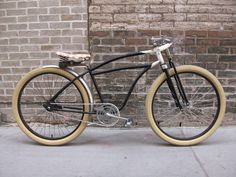 """I've always like the """"board track"""" look on the older cruiser bicycles.."""
