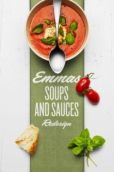 Emmas Soups and Sauces — The Dieline - Branding & Packaging