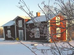 Framigården in Hällfors, Kalix, Norrbotten. Built in 1759