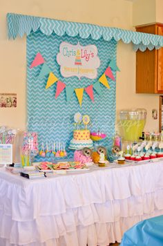 I think I found a theme! Sweet Shop Candy Shop Birthday Party Printables on etsy