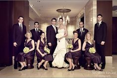 Love this wedding party shot