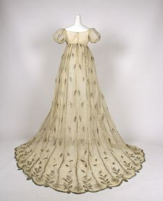1805-10 Evening dress | French | The Met