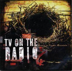 """TV On The Radio. Cd and 12"""" vinyl album. Art direction: Tunde Adebimpe & Vaughan Oliver. Designed by: Vaughan Oliver at v23. Design assistance: Chris Bigg at v23. Images (commissioned): Marc Atkins"""