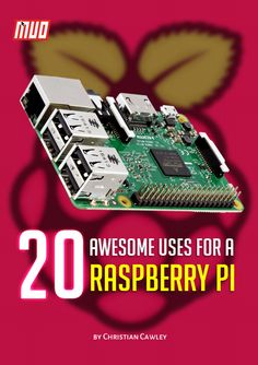 Free eBook: 20 Awesome Uses for a Raspberry Pi    #RaspberryPi