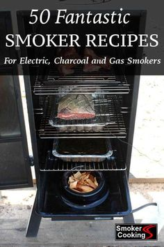 Tempting Smoker Recipes For Delicious Smoked Foods. Every Time! - 50 Fantastic Smoker Recipes for Electric, Charcoal and Gas Meat Smokers! Grilling Recipes, Gourmet Recipes, Traeger Recipes, Smoked Meat Recipes, Grilling Tips, Gourmet Foods, Healthy Recipes, Meatloaf Recipes, Yummy Recipes
