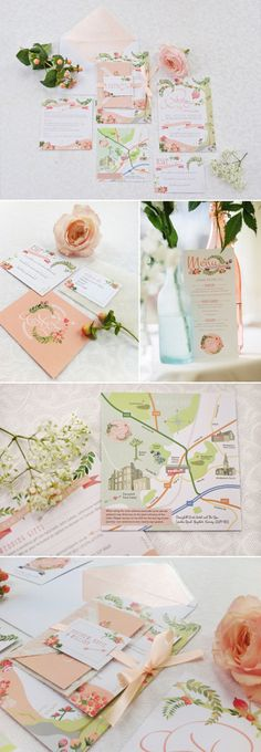 Deliciously Styled Chicago Wedding Shoot Invitation ideas