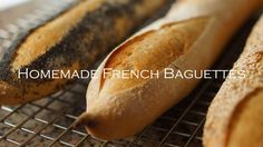Easy Homemade French Baguettes - Bruno Albouze - THE REAL DEAL