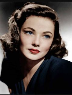 1940s - skin a lot warmer and eyes a lot simpler. Lips also a lot warmer with reds/oranges