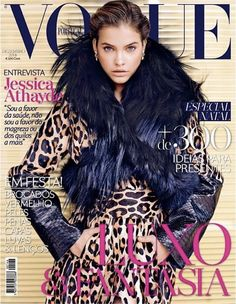 Barbara Palvin photographed by Marcin Tyszka for Vogue Portugal December 2014