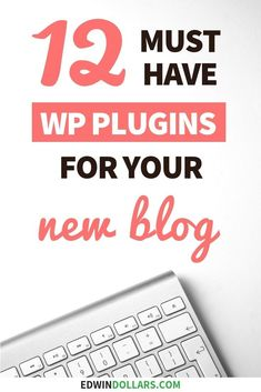 After you install WordPress you need to install these 12 essential WordPress plu Wordpress For Beginners, Blogging For Beginners, Make Money Blogging, Make Money Online, How To Make Money, Wordpress Plugins, Wordpress Admin, Wordpress Theme, Ecommerce