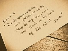 Sayings; With a promise