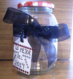 Corona de pétalos (decoración San Valentín)   Tarro