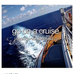 I loved the cruise I went on! I went to the Bahamas! I want to go to the Caribbean next?
