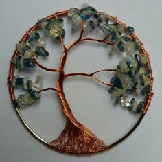 Winter wire tree