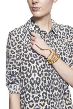 Nereus Bracelet by Paula Mendoza - Moda Operandi This is just awesome and I want it!