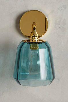 Dark Turquoise Salmar Sconce