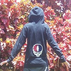 Custom Grateful Dead Steal Your Face Appliqued by tiphzthreads, $88.00