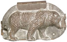 Early Grizzly Bear #12 Chocolate Mold