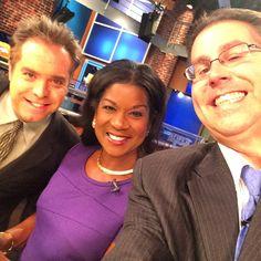 10 PM Sunday news multi-selfie @ WREG