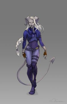 409 Best Tiefling Female Images In 2019 Character Art Character