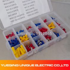 450 Terminal Connector Set Electrical Automotive Wiring Wire Crimp Terminal Kit Free Shipping