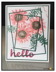 SU...Painted Harvest...triple card...hello