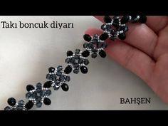 Seed Bead Tutorials, Seed Bead Patterns, Beading Patterns Free, Jewelry Patterns, Bracelet Patterns, Bead Jewellery, Beaded Jewelry, Beaded Bracelets, Bracelet Making