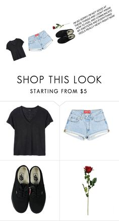 """Untitled #505"" by dyingflowers on Polyvore featuring Deby Debo and Vans"