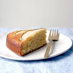 Sour Cream Cardamom Pear Cake Recipe on Food52 recipe on Food52