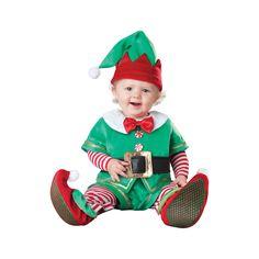 INCHARACTER COSTUMES REF: 56003 DUENDECILLO BEBE - Traje especial para que cambies el pañal de tu bebe, cinturón, sombrero y botines antideslizantes. (Los botines son de uso para interiores). PRECIO COLOMBIA: 145.000