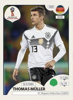9b5456786e6 Tomas Müleer Alemania Panini FIFA world cup Russia 2018  Fifa  FifaWorldCup   FifaRussia