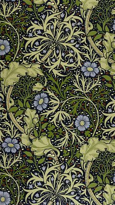 Arts and crafts DIY Fun - Modern Arts and crafts Kitchen - Arts and crafts Furniture DIY - Arts and crafts House Windows - Arts And Crafts For Adults, Arts And Crafts House, Easy Arts And Crafts, Arts And Crafts Projects, Crafts For Kids, William Morris Wallpaper, William Morris Art, Morris Wallpapers, Motifs Art Nouveau