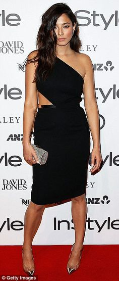 a36959ba64 Jessica Gomes in Carla Zampatti - InStyle Awards in Sydney. (May 2014) Carla