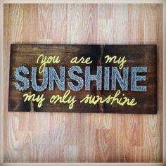 Sunshine string art by cainisable