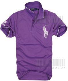 2013 White Ralph Lauren Polo Men Shirt | On Sale White Men Shirt $44