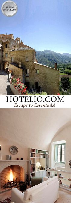 www.hotelio.com    Castello di Postignano    Castello di Postignano is a historic medieval fortified town, or borgo, that has been restored by a passionate and dedicated team. It is situated in the heart of Umbria. Here you will find sixty unique homes gathered around the tower and the frescoed church. #Luxury #LuxuryHotels #Hotels #Italy #Travel #LuxuryLife #LuxuryLifeStyle (Pinned by #Casalio - www.casalio.com) Our travel blog - www.casaliotravel.com