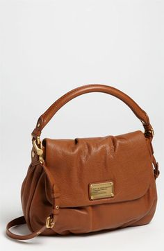MARC BY MARC JACOBS 'Classic Q - Little Ukita' Shoulder Bag available at #Nordstrom    Perfect color for fall <3